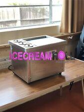 Mini Fried Ice Cream Roll Machine Single Pan 3 Compartments**UK**