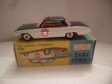Corgi 237 Oldsmobile Sheriff Policía Coche Vintage 1962 En Caja
