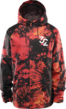 Brand New Mens 2020 ThirtyTwo Grasser Snowboard Jacket Red Black