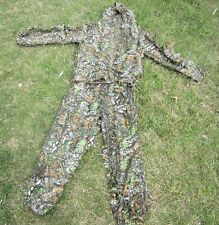 3D Yowie Suit Camouflage Birdwatching Ghillie Camo Disguise Clothes Hunting Leaf