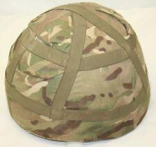 Genuine British Army Mk6A Combat Helmet Black with MTP Helmet Cover Size Medium