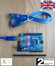 Arduino Uno R3 ATMega328P CH340G Compatible Microcontroller Board with USB Cable