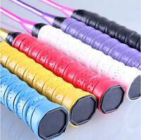 Racket Bat Overgrip Anti Slip Roll Tennis Badminton Handle Stretchy Grip Tape 2p