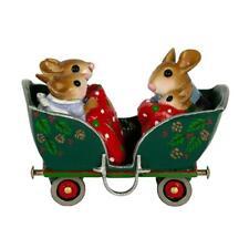 Wee Forest Folk COZY CARRIAGE, M-453q, LTD 2019, Christmas Train Car