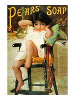 Emile Munier Pears' Soap Poster Kunstdruck Bild 40x30cm