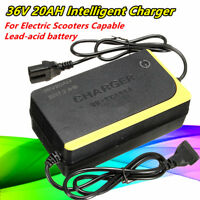 36V 1.8A 20AH Intelligent Charger for Electric Scooter Capable Lead-acid Battery