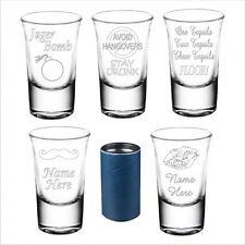 Personalised Novelty Shot Glass Daddy Mummy Gran Christmas Birthday Gift 084