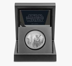 Disney 1 oz Proof Mandalorian Star Wars Silver Coin .999 fine