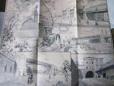 Wien Archiv Edition 1165 Die Stadtbahn & die Nußdorfer Schleuse 1898 Schuster