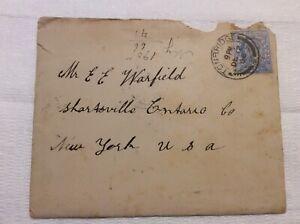 Vintage stamp: King Edward Vll 2 1/2 d ultramarine from 1900's in original maili