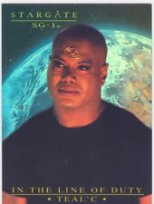 Stargate SG1 Season 7 In The Line Of Duty Tealc Chase Card T6