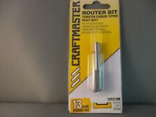Router Bit- 15mm Straight Cut 1/4shk  CRAFTMASTER Mfg in NZ. 65% OFF