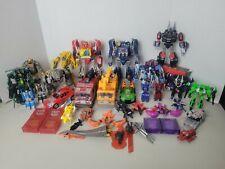 HUGE Transformers Mixed Lot War for Cybertron Grimlock Soundwave Cliffjumper EUC