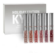 Kylie Jenner Cosmetics Holiday Edition Mini Kit Liquid Matte Lipstick 6 Shades