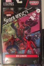 """Marvel Legends Universe 3.75"""" Comic 2-pack Web Slingers Spider-man figure set"""