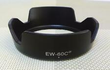 Replace EW-60C Lens hood for Canon 18-55mm 28-80mm 28-90mm EW-60C II