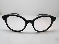 NEW Authentic IC BERLIN Julia S. Matte Black 51mm Eyeglasses w/ Case