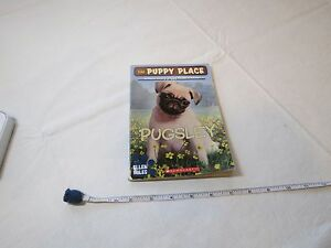 Pugsley by Ellen Miles soft cover scholastic book Pug PUPPY finds a home kids