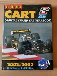 Autocourse CART Official Champ Car Yearbook 2002 - 2003 HCDJ Auto Racing