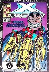 X-Factor 19 & 25 (1998) Apocalypse Archangel Four Horsemen Louise & Walt Simpson