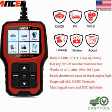 NEW Ancel AD410 OBD2 Automotive Code Reader Check Engine Light Auto Scanner Tool