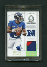 2013 Russell Wilson National Treasures Pro Bowl Materials Patch 03/25 Jersey #