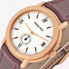Audemars Piguet Jules Audemars 18K Rose Gold Mechanical Watch 15056OR 36mm