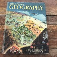 The Golden Geography: A 1961 Giant Golden Book Deluxe Edition