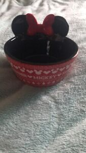 Minnie Mouse dog bowl