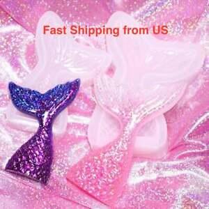 New Shiny Mermaid Tail Silicone Mold - 2 Sizes - Resin, Epoxy, Craft