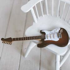 Dollmore 1/3 1/4 1/6 BJD Bass Electric Guitar Mini Musical Instrument Photo Prop
