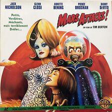 LASERDISC - MARS ATTACKS ! WS-PAL-VF -Jack Nicholson, Pierce Brosnan