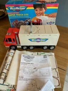 Micro Machines Super Truck City Playset