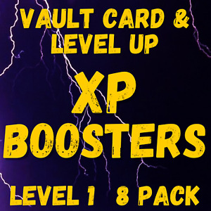 (PS4/5 PC XBOX) - XP BOOSTERS - 2550% BOOST - 8 PACK