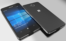 Microsoft Lumia 650-16GB-Unlocked-Black-Windows10-Smartphone-new condition