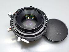 CALTER HR 210mm 1:6.8 4x5 CAMERA LENS W/COPAL-1 SHUTTER MINT W/CAPS