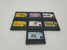 7 Japanese import Game Lot For SNK Neo Geo Pocket color System Console     A14
