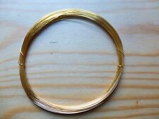 24K GOLD PLATED WIRE FOR VIOLIN/CELLO BOWS, CRAFTS OR JEWELRY, 0.2 GAUGE!
