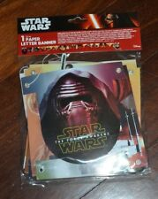 Star Wars The Force Awakens Happy Birthday Party Banner 6.8' - 2,1mts New