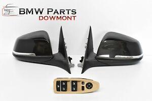 BMW 3 F30 F31 Außenspiegel Wing Mirrors Original LHD Electric Folding L+R