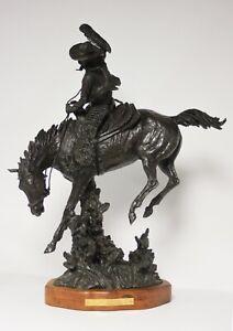 TRUMAN BOLINGER-WY Western Artist-Original Signed Limited Edition Bronze-Cowboy