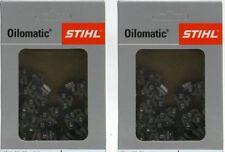 Vollmeißelkette x 2 ★ Stihl (3617 000 0050) ★ 35cm 3/8 1,3 TG 50 PS3 Picco Super