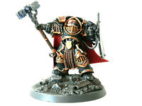 A10 WARHAMMER 30/40K SPACE MARINES -IMPERIAL FISTS CAPTAIN CATAPHRACTII ARMOUR