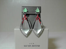 Alexis Bittar Studded Amazonite Bedarra Clip on Drop Earrings.**NEW**$345**