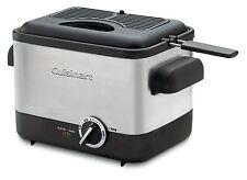 New Cuisinart CDF-100 Compact Deep Fryer
