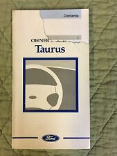97 1997 Ford Taurus Owners Manual Guide FREE SHIPPING Owner SMOKE FREE Book