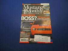 Mustang Monthly, Oktober 2011 verborgene macht alles um Konturen