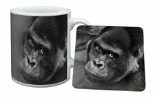 Handsome Silverback Gorilla Mug Coaster Christmas/birthday Gift Idea Am-6mc