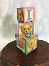 Cherished Teddies Displayer Love Letters Used with Backerboard New 1997