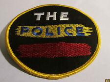 Police Collectable Rare Vintage Patch Embroided 90'S Metal Live Larger